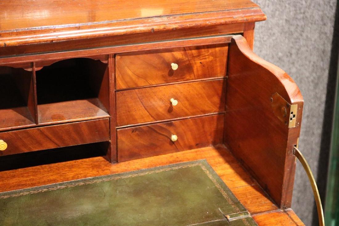 George III Mahogany Secretary Bookcase - 9