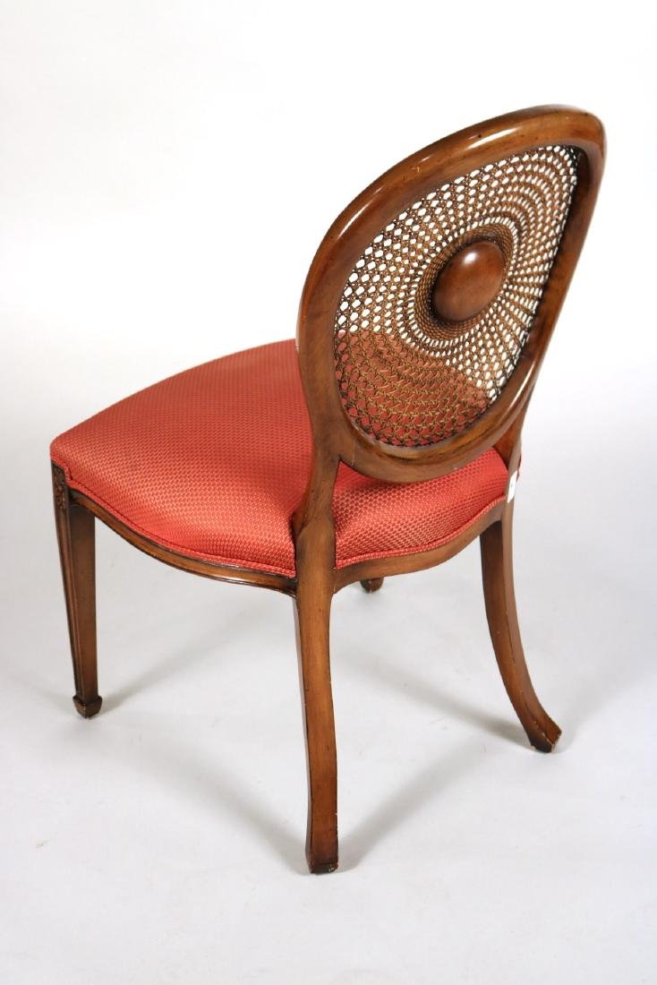 Six Georgian Style Dining Chairs - 8