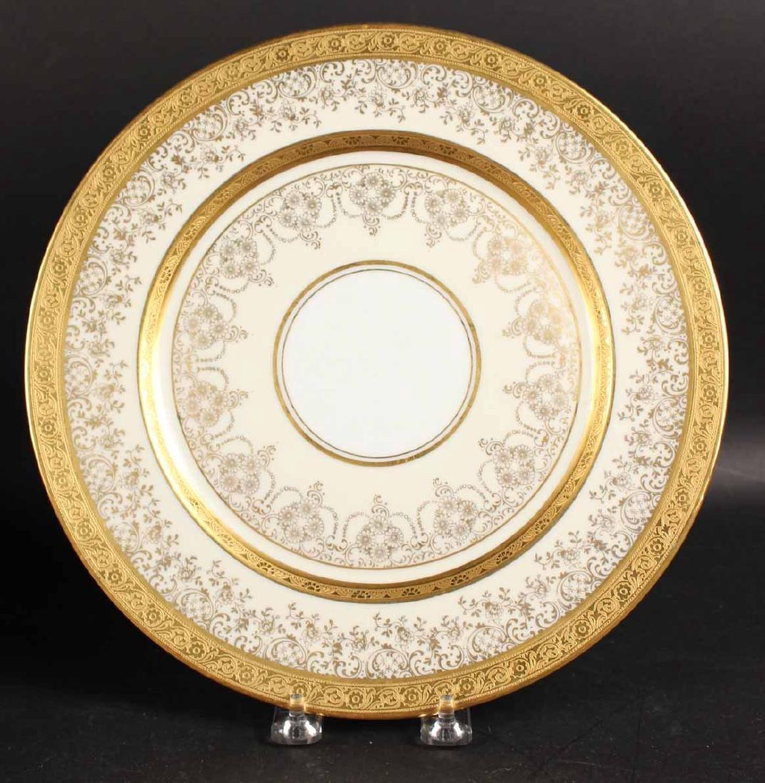 Twelve Heinrich Selb Porcelain Dinner Plates - 2