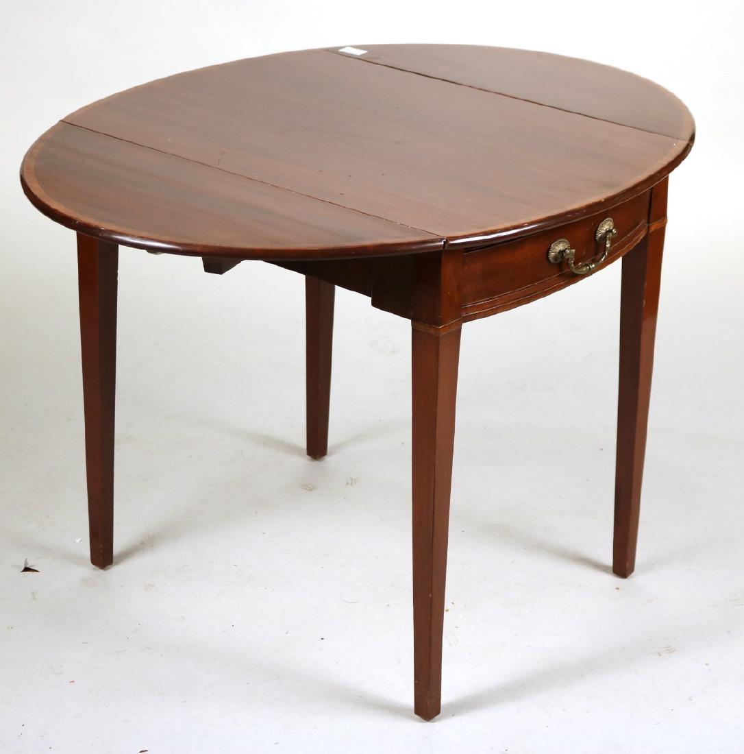 Federal Inlaid Mahogany Pembroke Table - 6