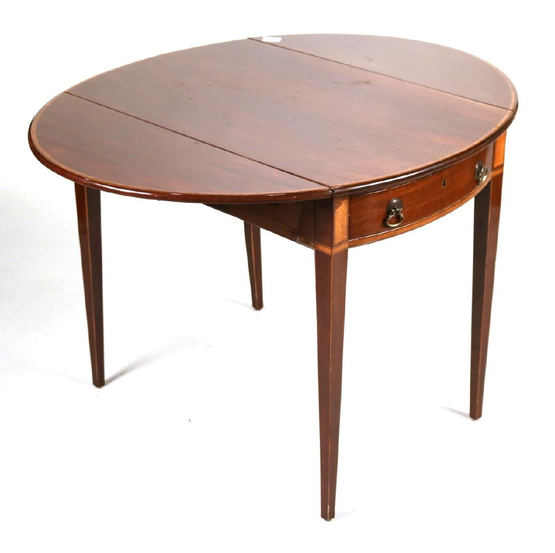 Federal Inlaid Mahogany Pembroke Table - 7