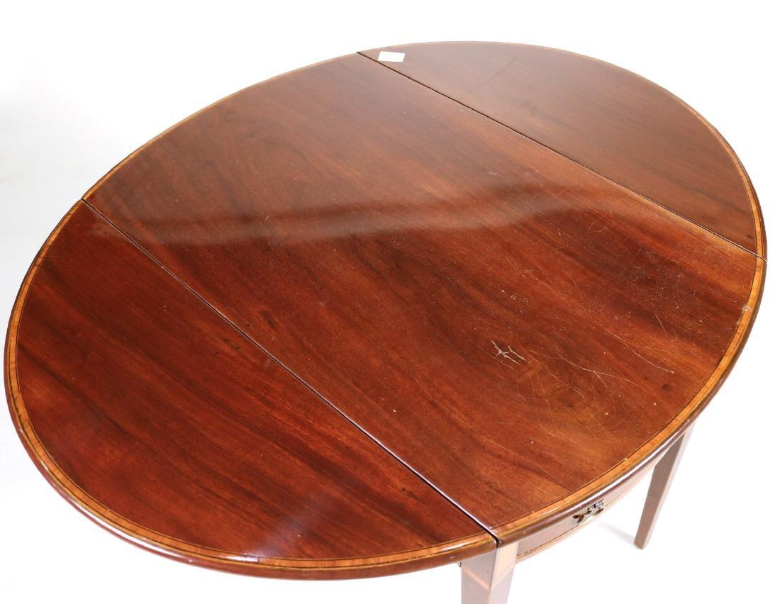 Federal Inlaid Mahogany Pembroke Table - 8