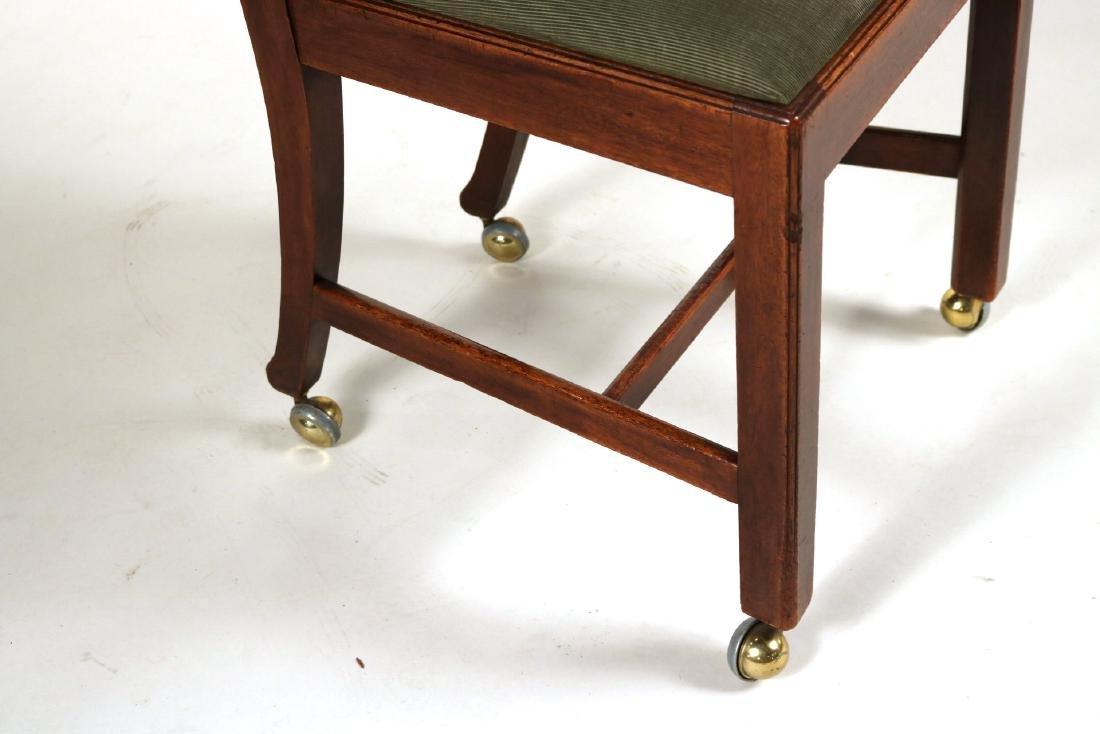 George III Style Mahogany Side Chair - 2