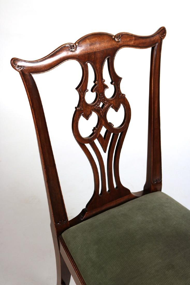 George III Style Mahogany Side Chair - 4