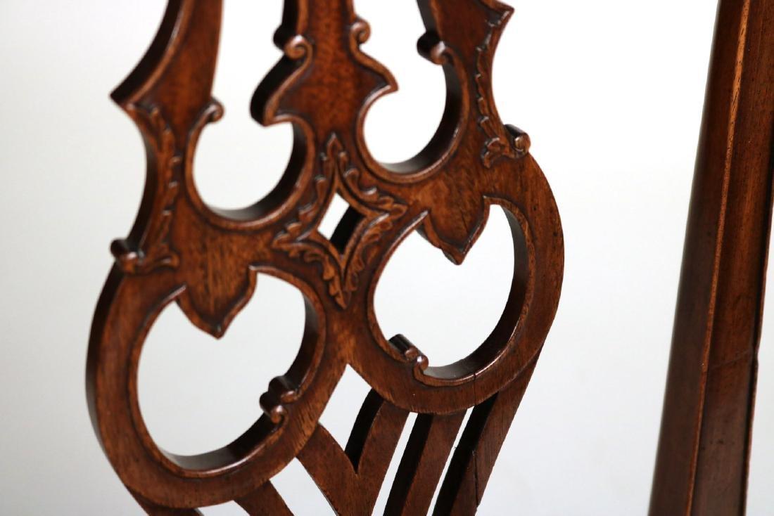 George III Style Mahogany Side Chair - 5