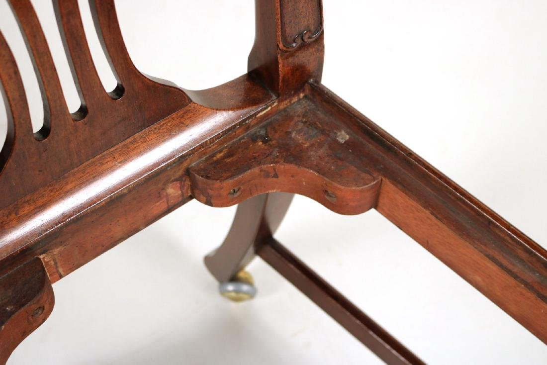 George III Style Mahogany Side Chair - 7