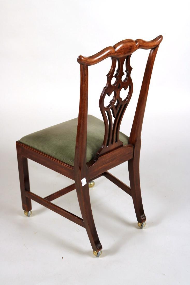 George III Style Mahogany Side Chair - 8