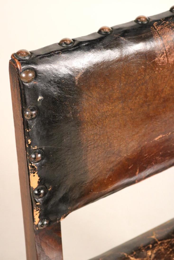 Four Jacobean Style Turned Maple Backstools - 7