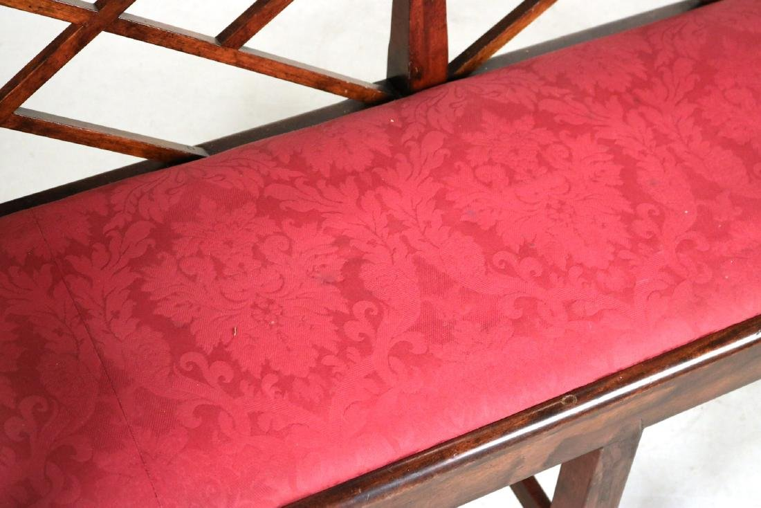 "George III ""Chinese Chippendale"" Style Settee - 3"