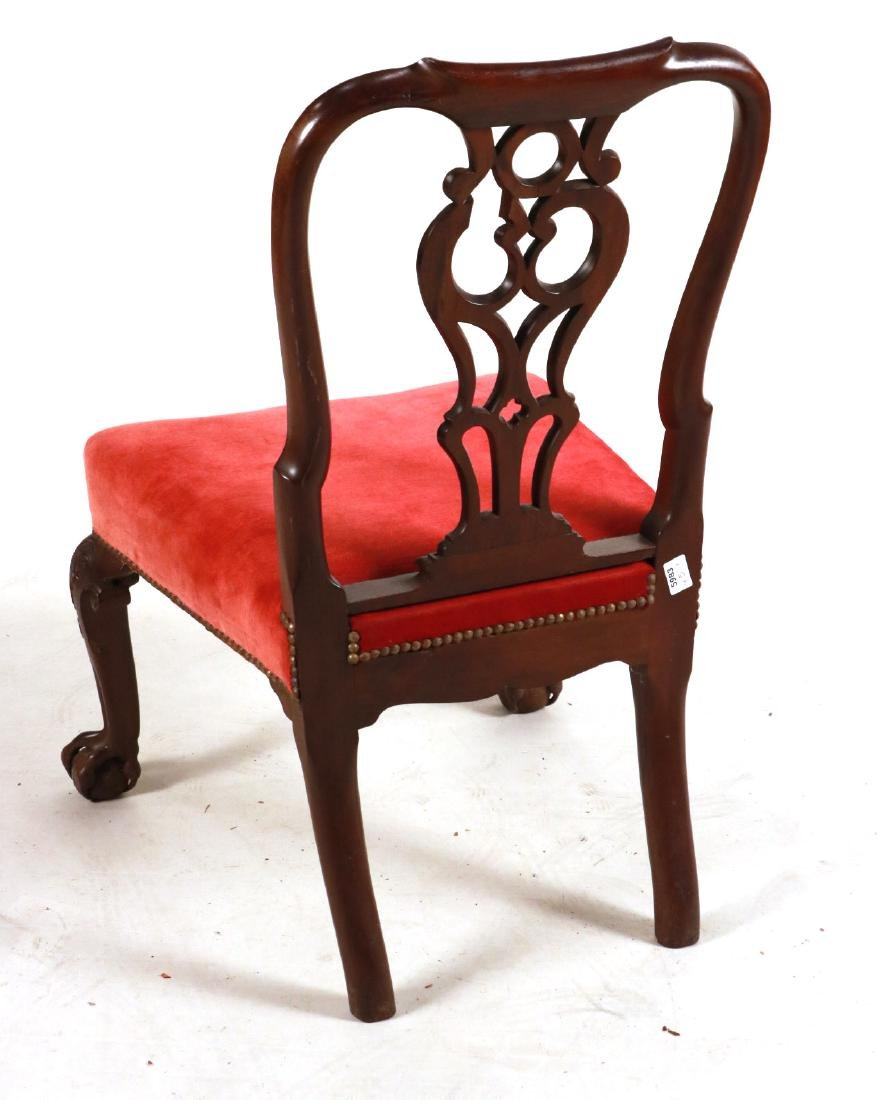 George II Carved Mahogany Side Chair - 6