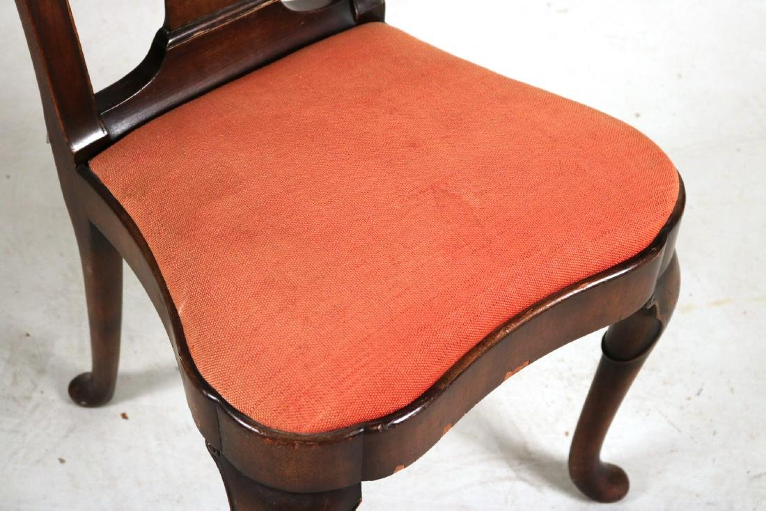 Baroque Style Mahogany Side Chair - 3
