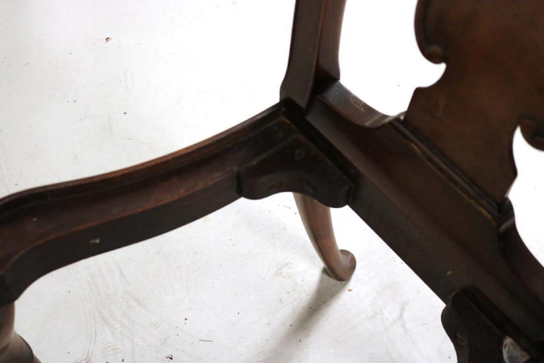Baroque Style Mahogany Side Chair - 8