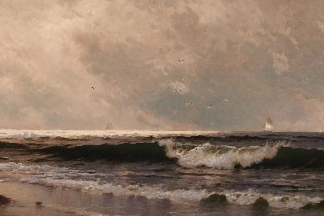 Oil on Canvas, Maritime Scene, Alfred Bricher - 2