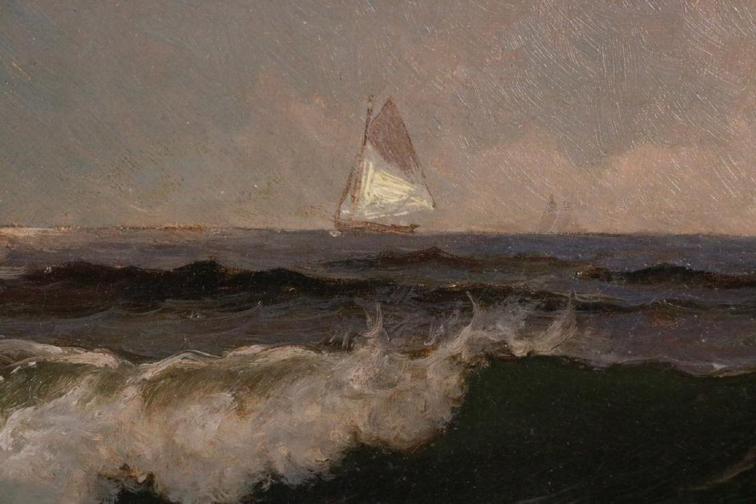Oil on Canvas, Maritime Scene, Alfred Bricher - 4