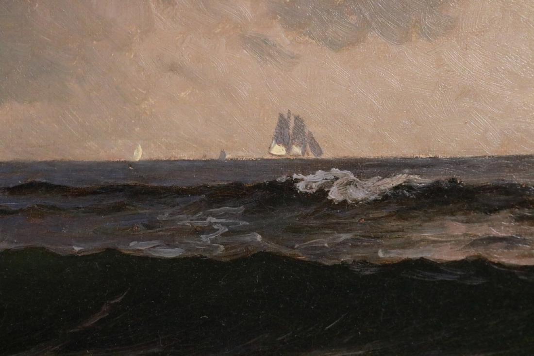 Oil on Canvas, Maritime Scene, Alfred Bricher - 5