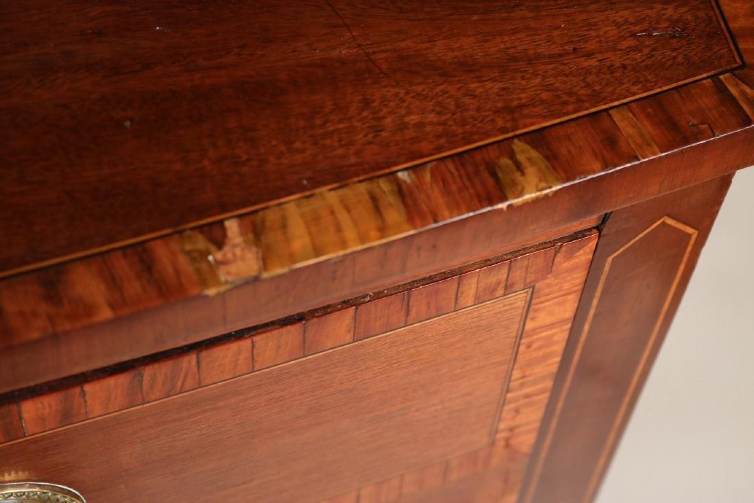 George II Style Inlaid Mahogany Sideboard - 4