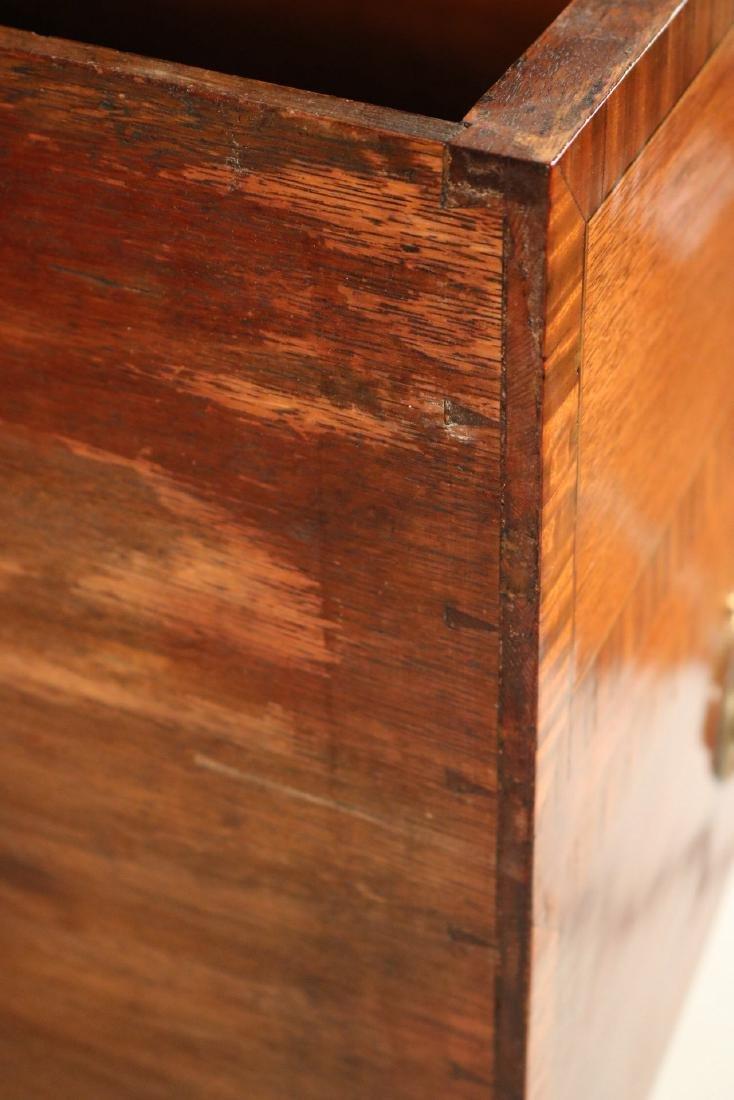 George II Style Inlaid Mahogany Sideboard - 6