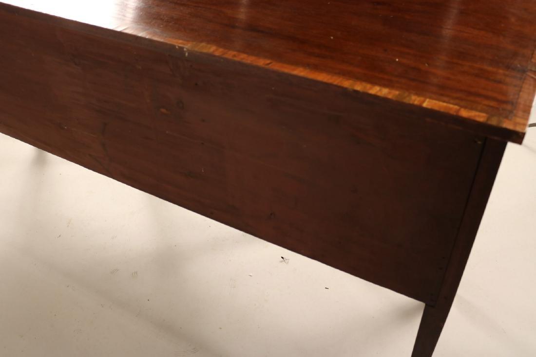 George II Style Inlaid Mahogany Sideboard - 8