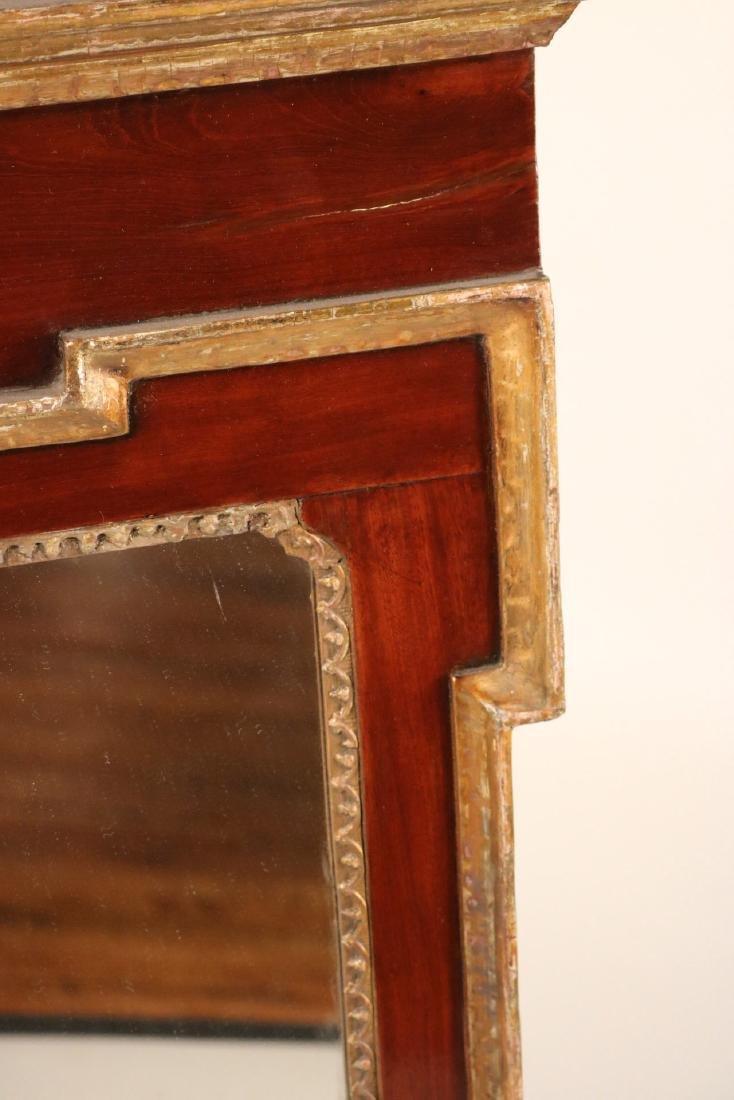 Chippendale Parcel-Gilt Mahogany Mirror - 4
