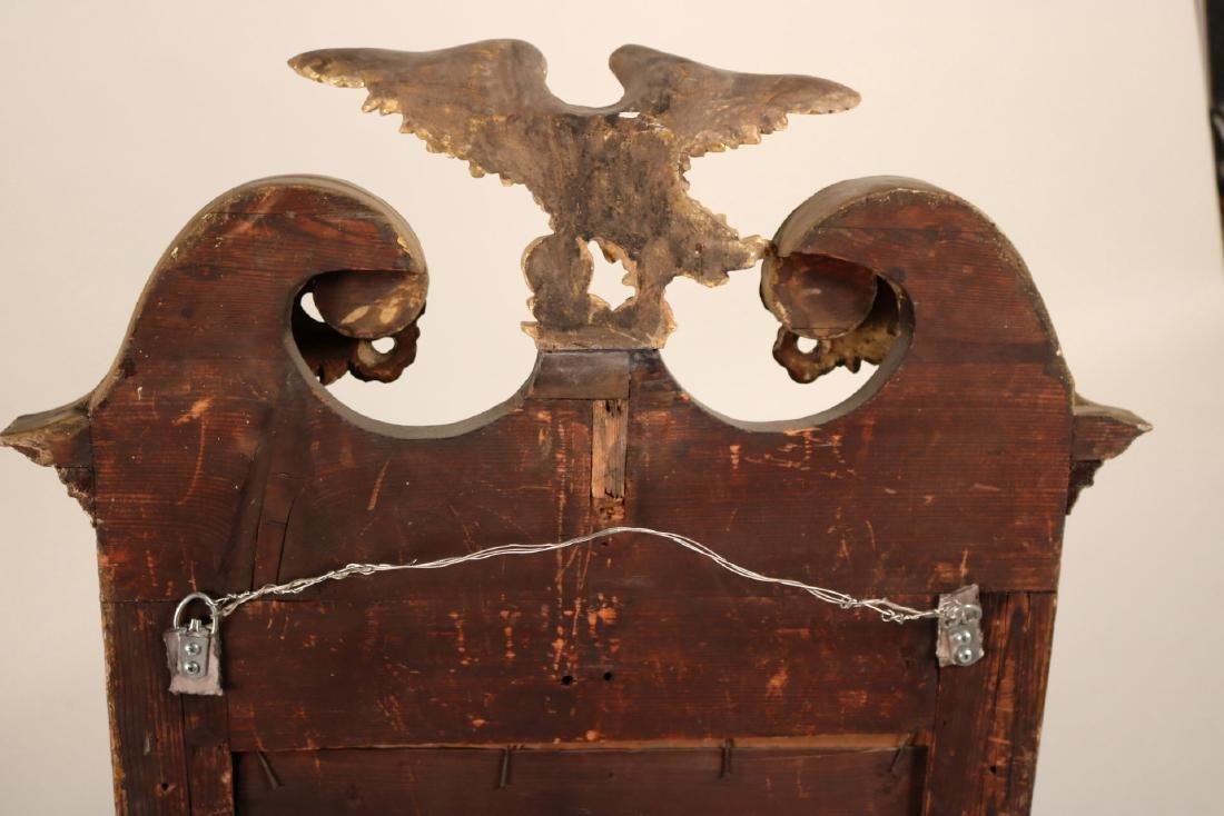 Chippendale Parcel-Gilt Mahogany Mirror - 9