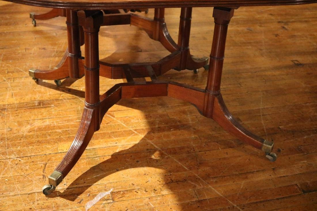 Classical Mahogany Cumberland Action Dining Table - 3