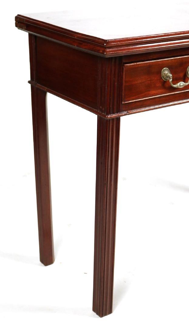 Federal Mahogany Gate-Leg Games Table - 2