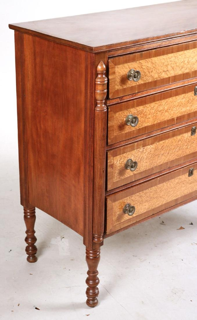 Federal Birch and Maple Chest of Drawers - 2