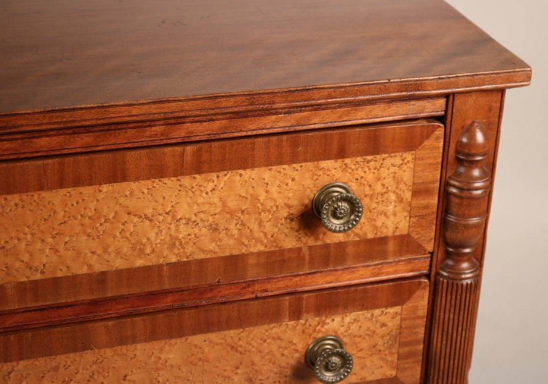 Federal Birch and Maple Chest of Drawers - 3