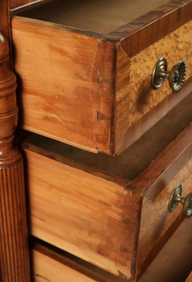 Federal Birch and Maple Chest of Drawers - 8
