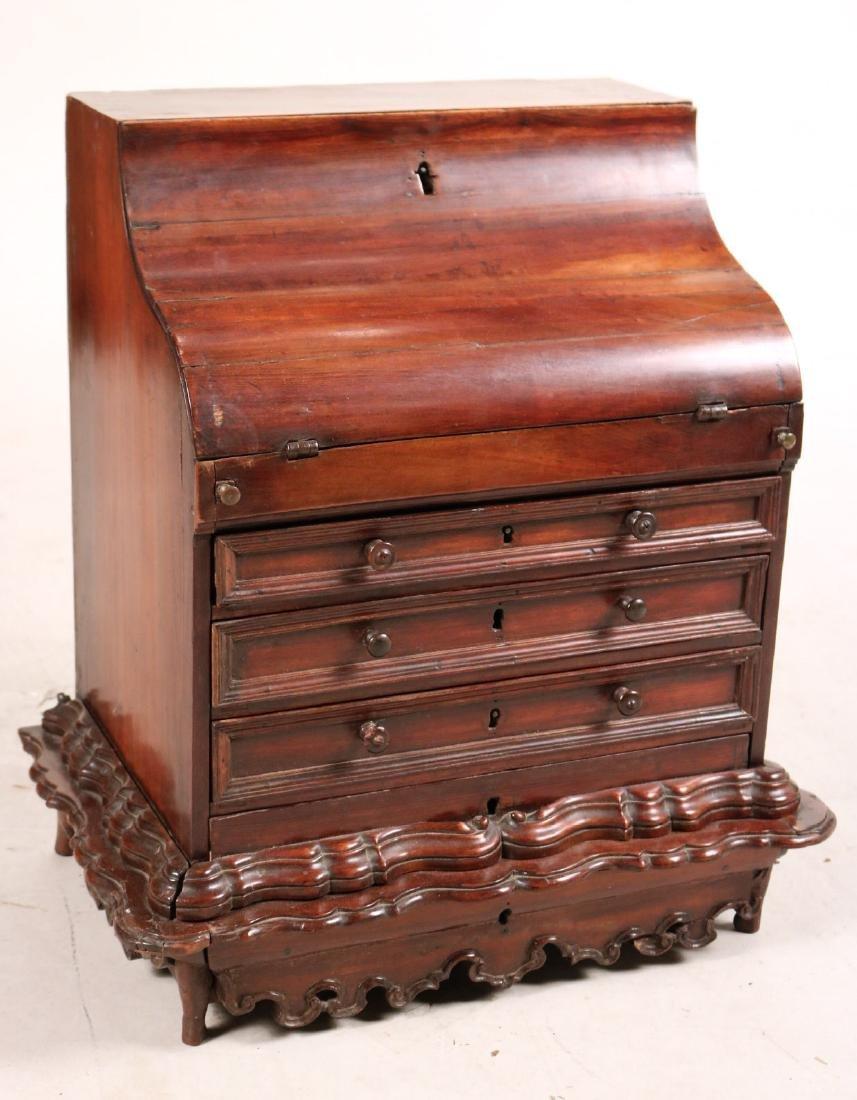 Queen Anne Child's Slant Front Desk