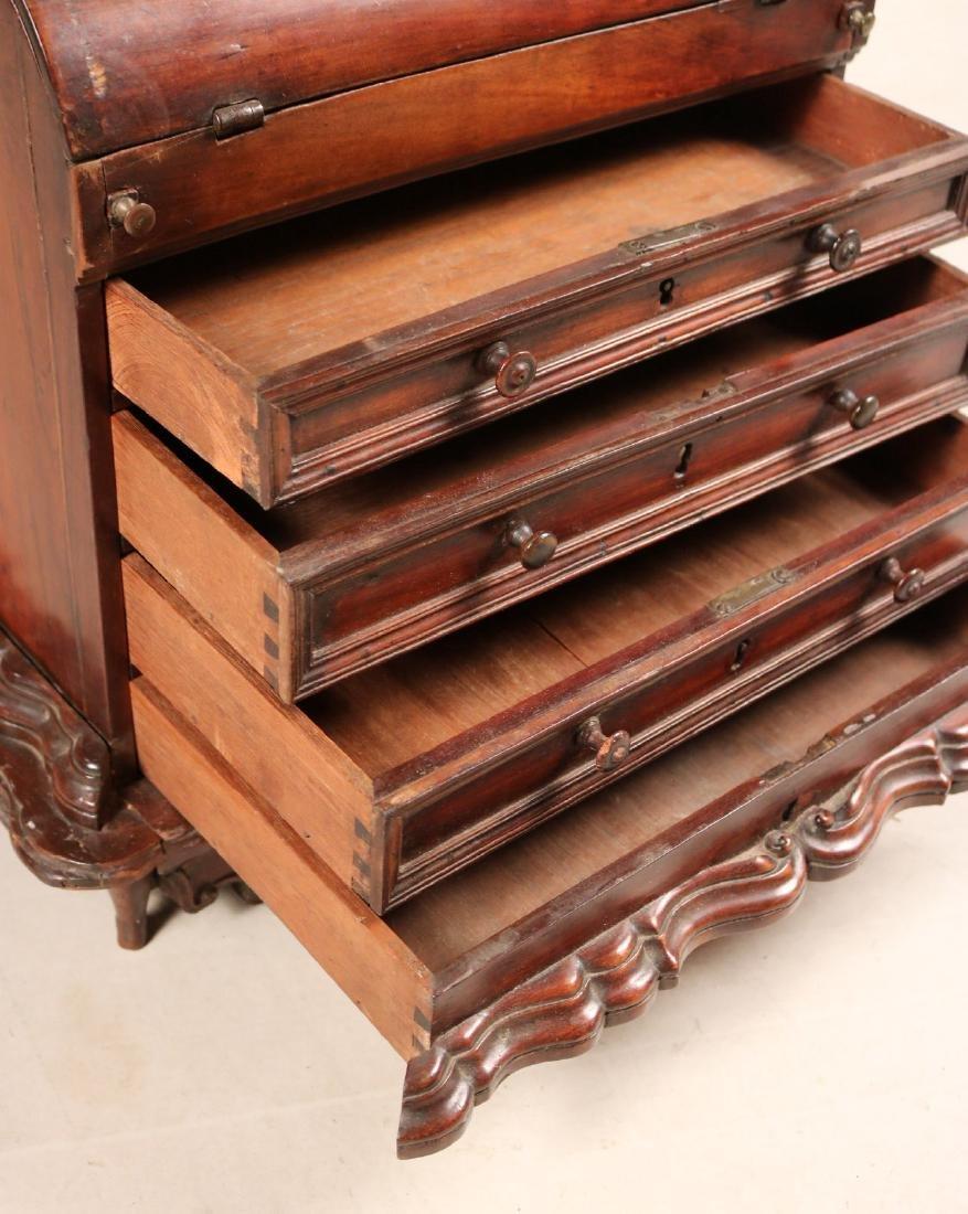 Queen Anne Child's Slant Front Desk - 3