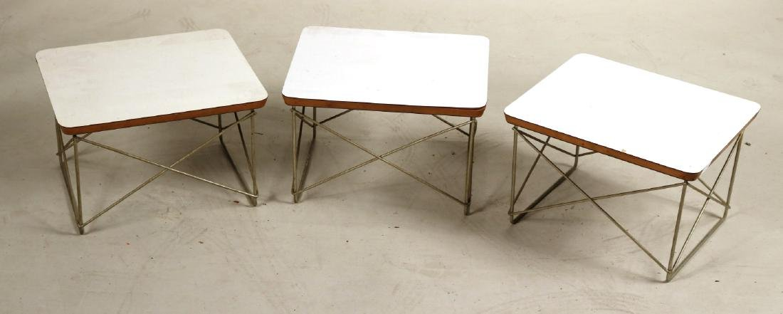 Three Charles &Ray Eames for Herman Miller Tables