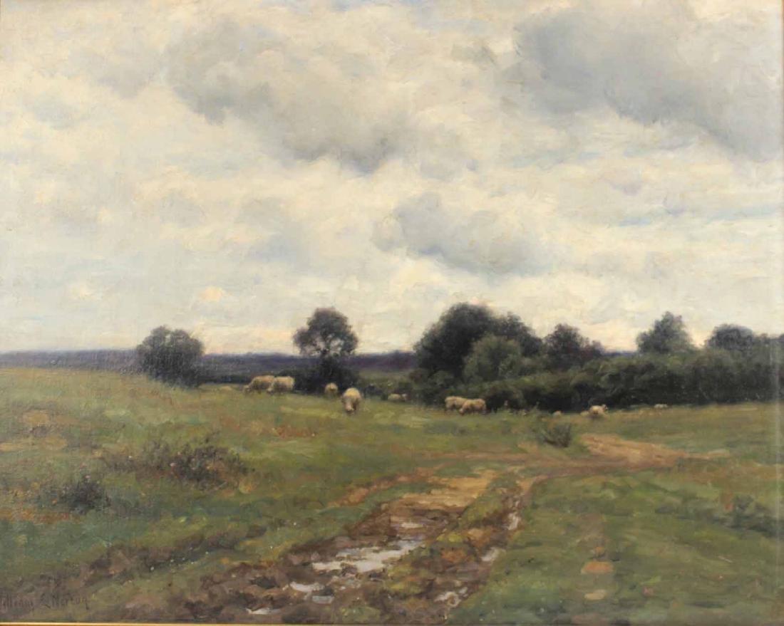 Oil on Canvas, Bucolic Scene, William E. Norton - 2