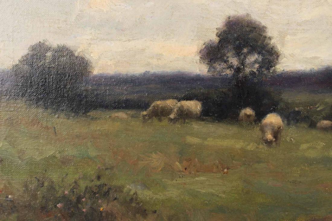 Oil on Canvas, Bucolic Scene, William E. Norton - 5