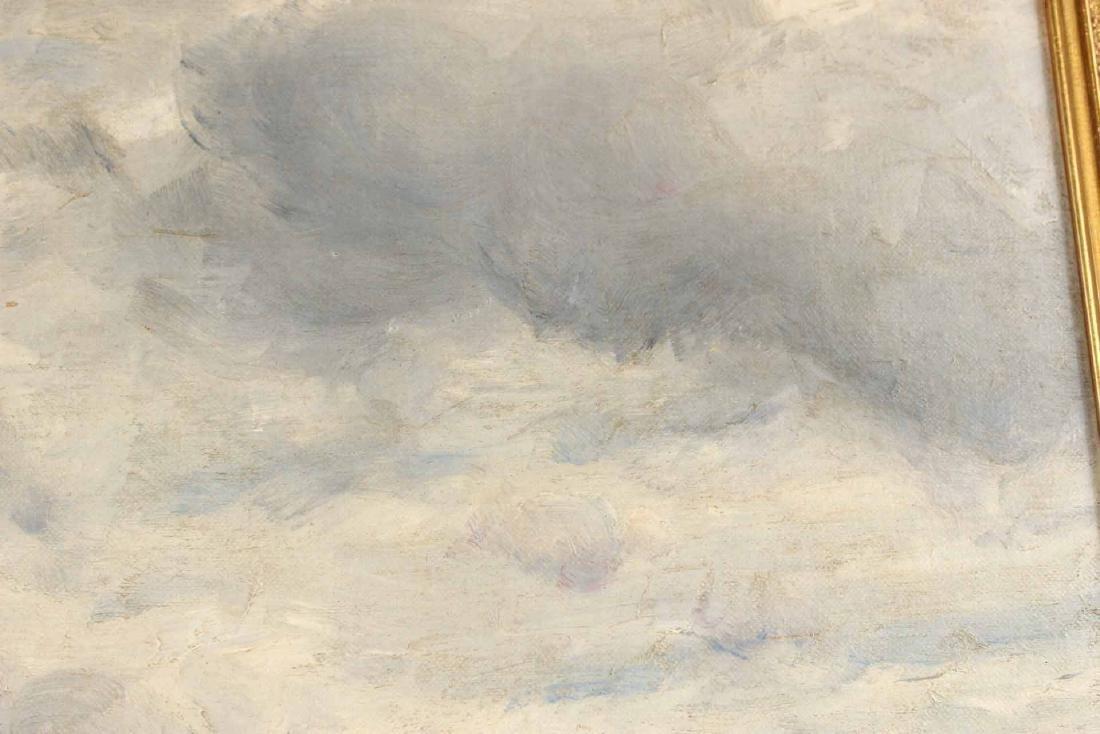 Oil on Canvas, Bucolic Scene, William E. Norton - 6