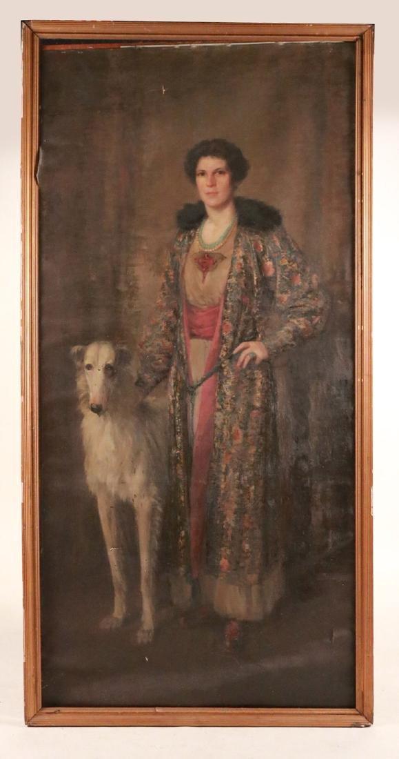Oil on Canvas, Portrait, Orlando Rouland