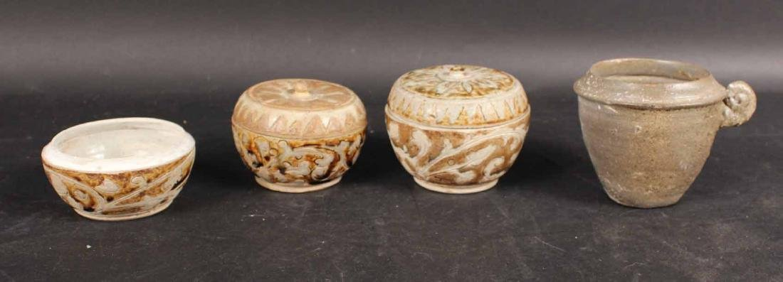 Four Asian Ceramic Vessels