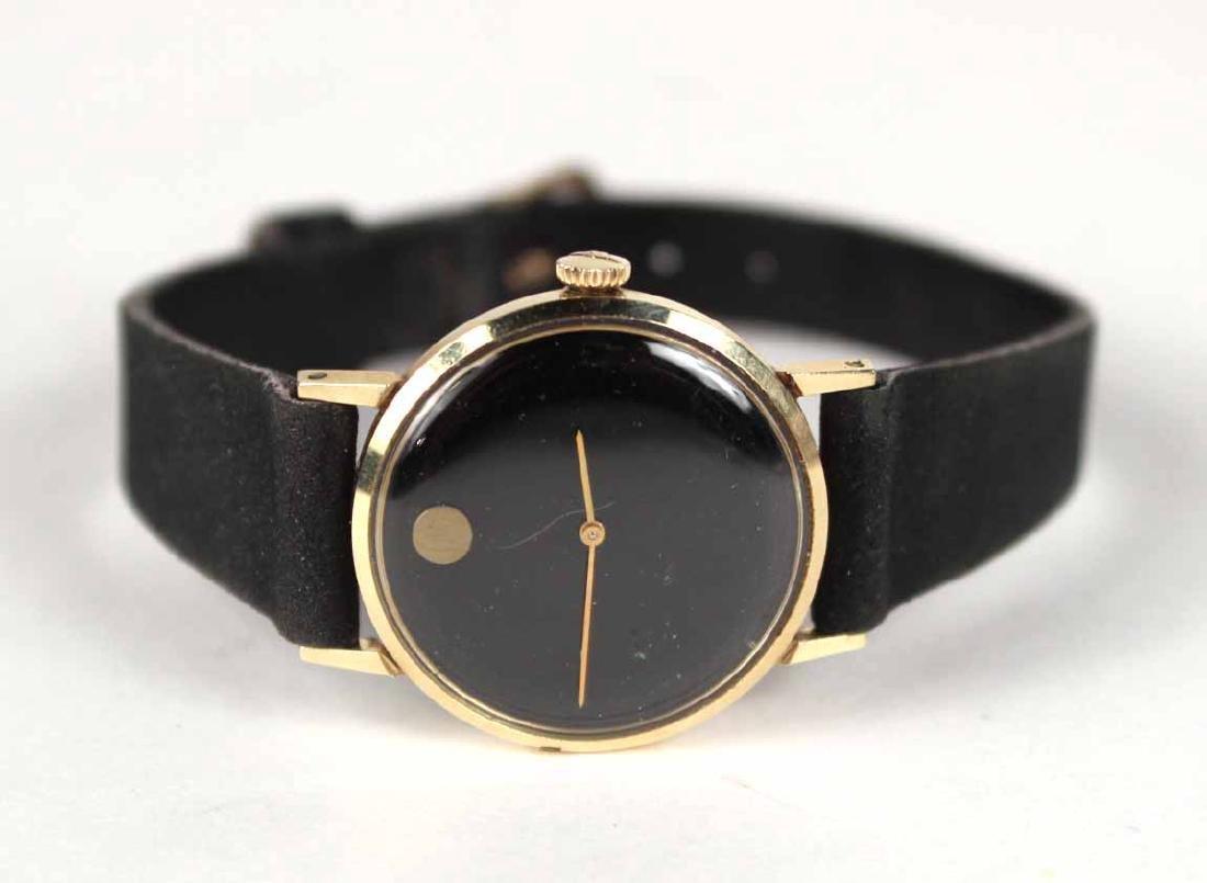"Movado 14K Yellow Gold Ladies ""Museum"" Wristwatch"