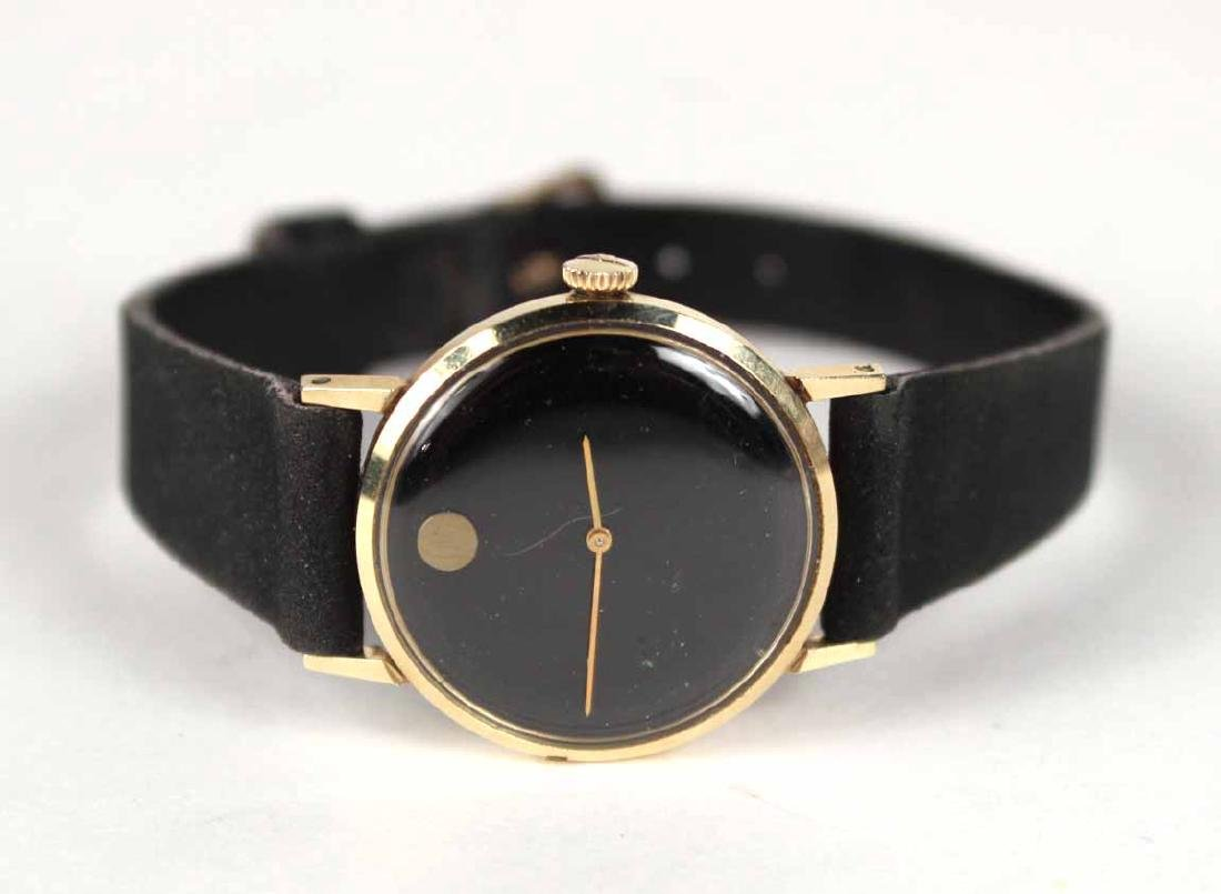 "Movado 14K Yellow Gold Ladies ""Museum"" Wristwatch"