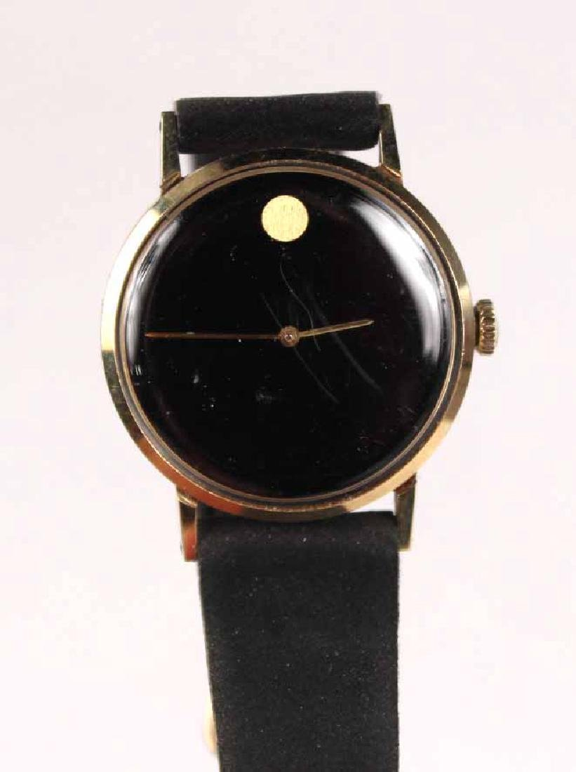 "Movado 14K Yellow Gold Ladies ""Museum"" Wristwatch - 2"