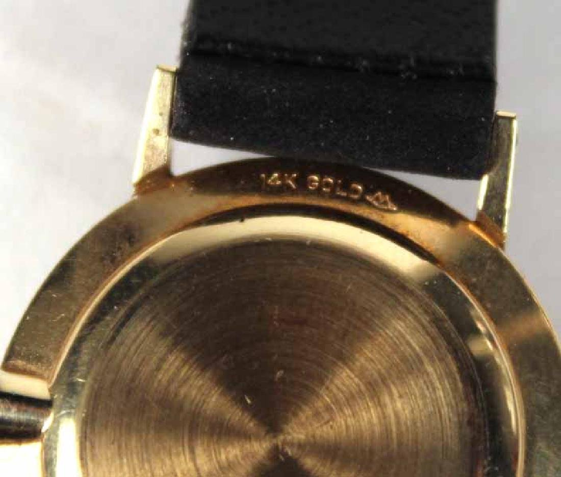 "Movado 14K Yellow Gold Ladies ""Museum"" Wristwatch - 3"