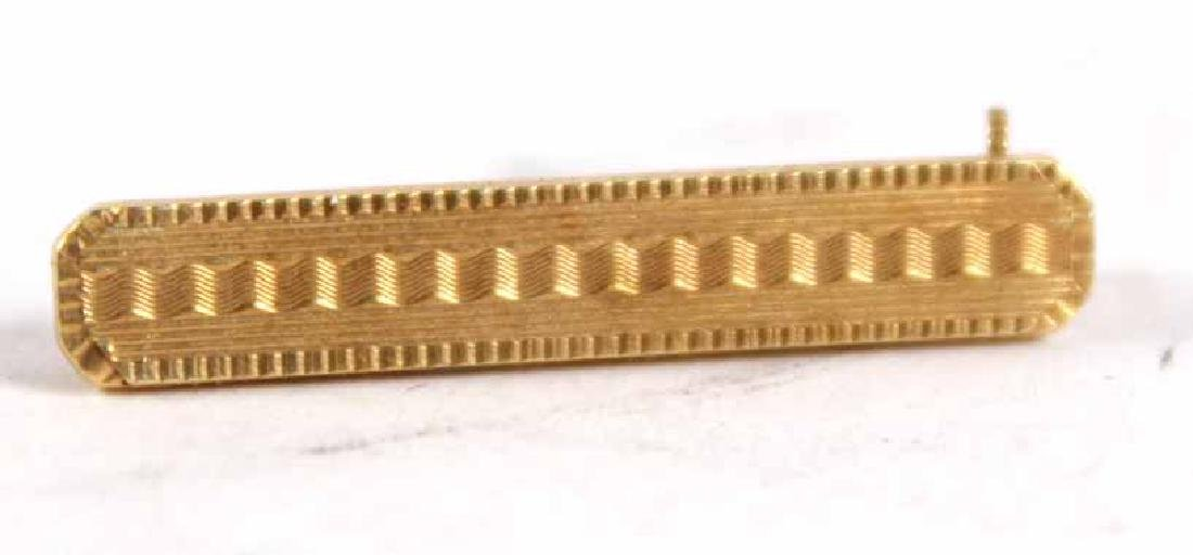 Pair of Tiffany 14K Yellow Gold Pins - 4