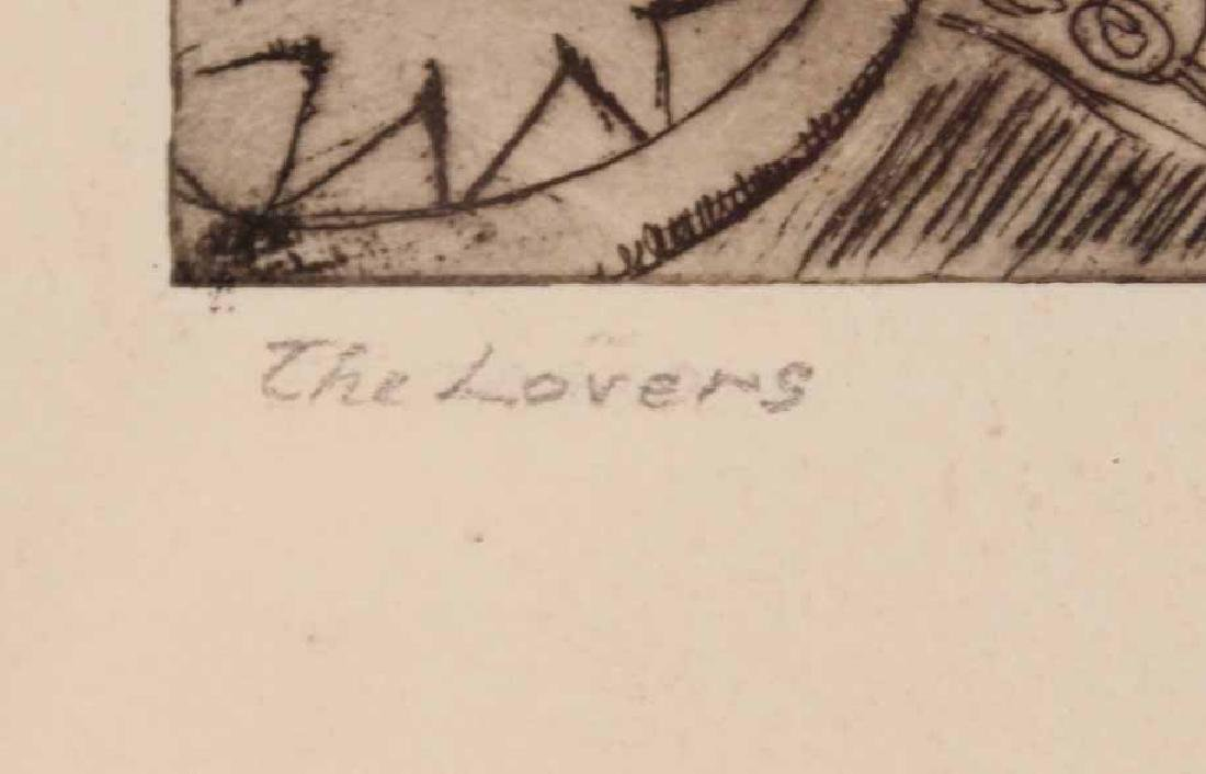 "Engraving, ""The Lovers,"" W. P. Snyder - 4"