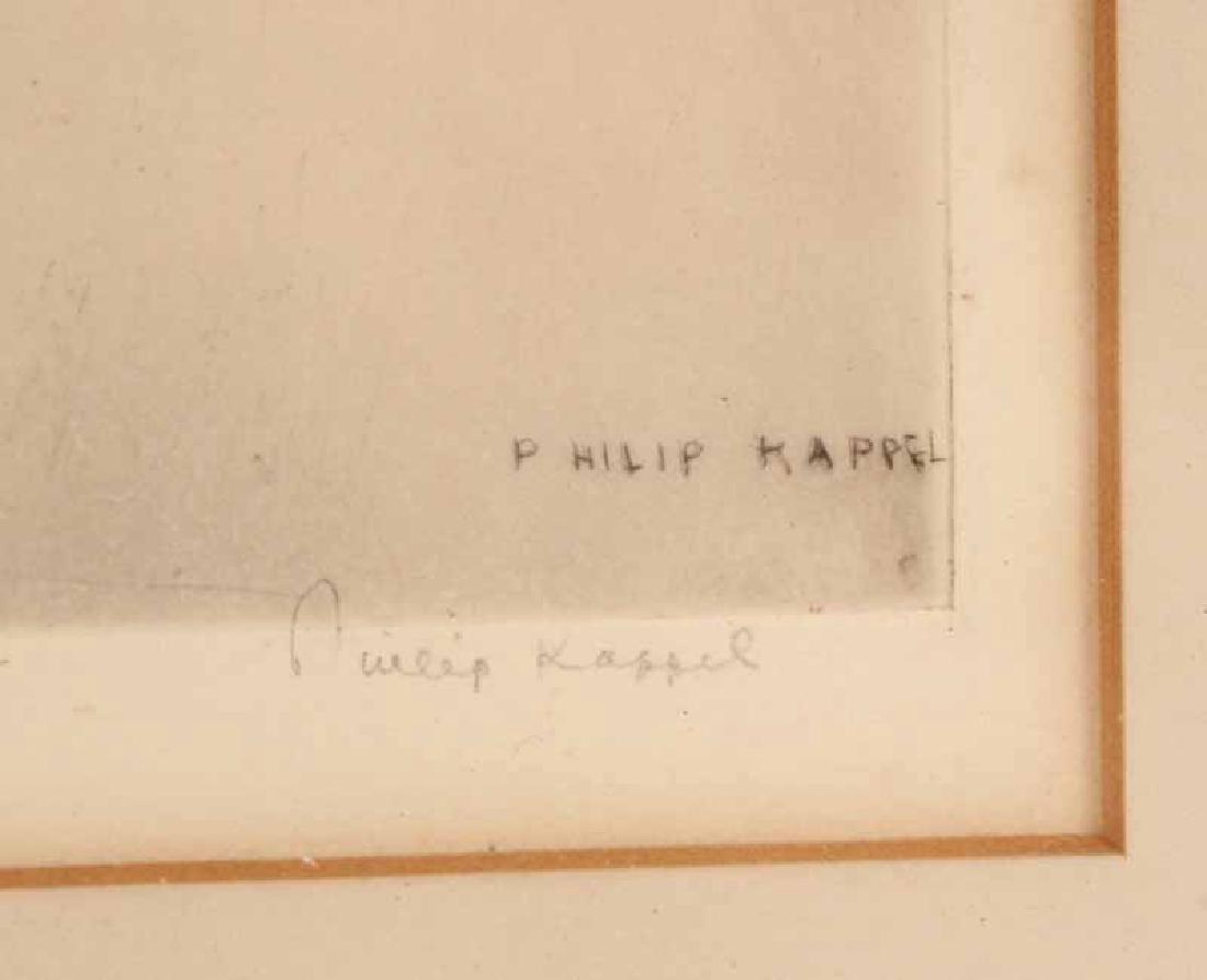 Etching, Ship, Philip Kappel - 3