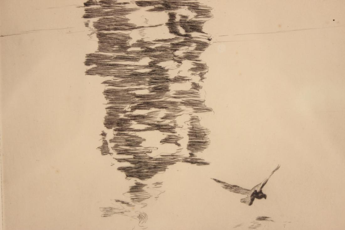 Etching, Ship, Philip Kappel - 5