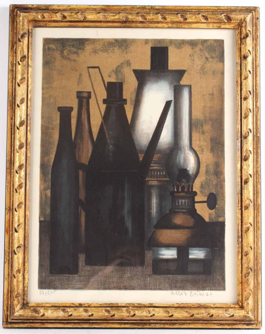 Lithograph, Still Life, Herbert Breiter