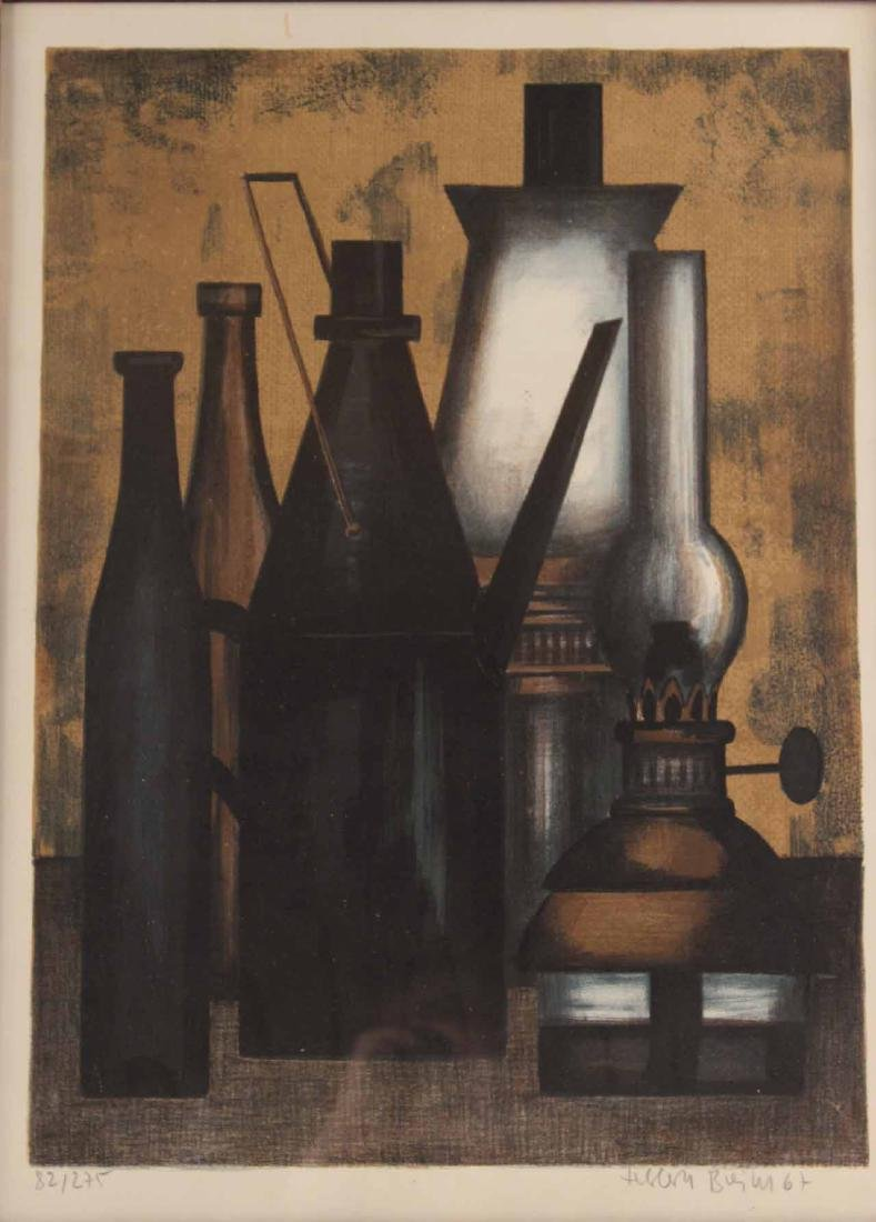 Lithograph, Still Life, Herbert Breiter - 2