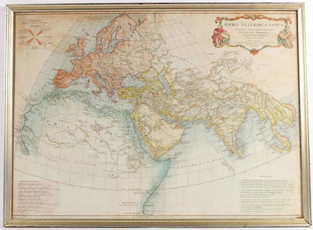 """Map, Orbis Veteribus Notus..."""""""