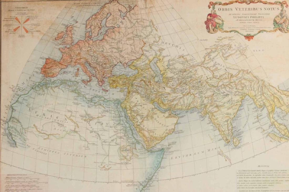 """Map, Orbis Veteribus Notus..."""" - 2"""