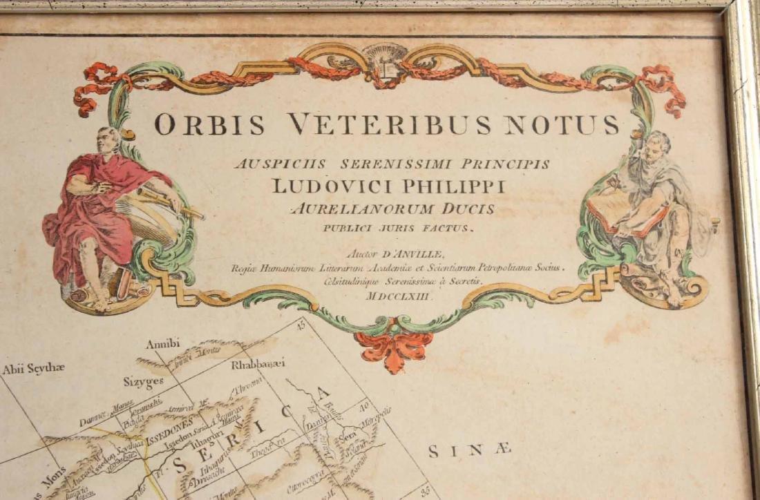 """Map, Orbis Veteribus Notus..."""" - 3"""